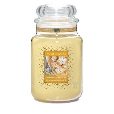 Yankee Candle Sprinkled Sugar Cookie Large Jar FREE P&P