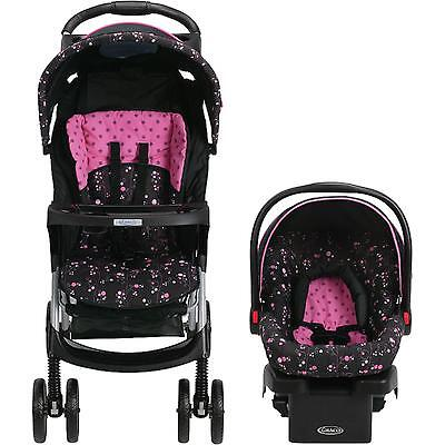 Baby Stroller Car Seat Travel System Infant Carriage Bassinet