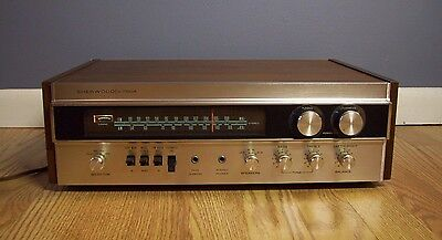 Sherwood S-7100A Stereo Receiver Very Nice Tested and Works Great