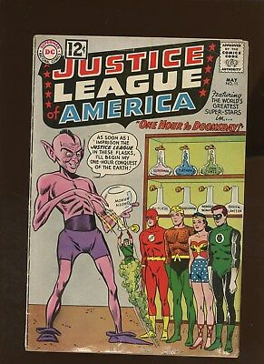 Justice League of America 11 VG 3.5 * 1 Book Lot * One Hour To Doomsday!!!