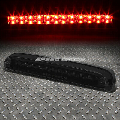 For 99-16 Ford Super Duty Tinted Led Third 3Rd Tail Brake Light Rear Stop Lamp