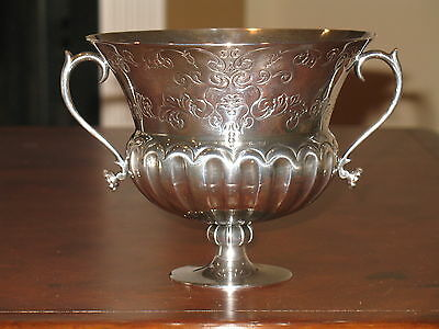 NEW PAMPALONI  925 STERLING SILVER Vase Cup Bowl Hand Made In ITALY 506 gm $1980