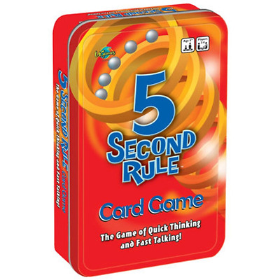 5 Second Rule Tinned Game Board Game
