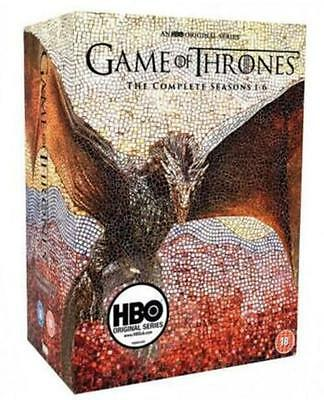 NEW Game of Thrones The Complete Seasons 1-6 30DVD