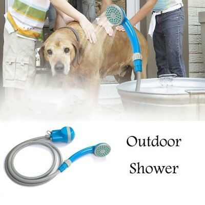 Portable USB Shower Water Pump Rechargeable Nozzle Camp Travel Outdoor Washing