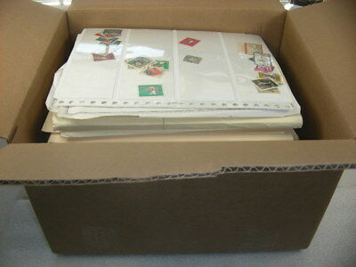 GERMANY & AREA, REICH, Large Accumulation of Stamps hinged/mounted on remainder