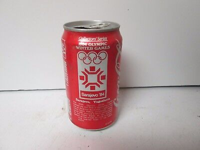 1984 Coca-Cola Olympic Winter Games Sarajevo '84 soda can.