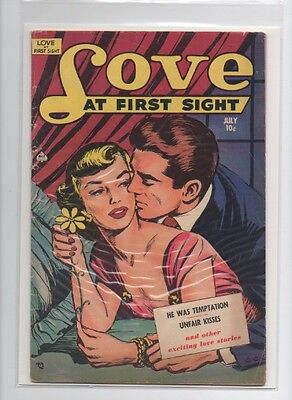 Love at First Sight #10 (Jul 1951, Ace Magazines) vg