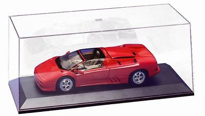 AUTOart 90003 Model car Display case Clear plastic top & black plastic base 1:18