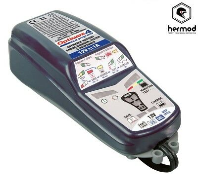 Tecmate Optimate 4 Dual Global Motorcycle Battery Charger Optimiser 12V