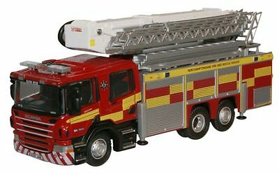 Bnib Oo Gauge Oxford 1:76 76Sal005 Scania Fire Aerial Pump Northamptonshire