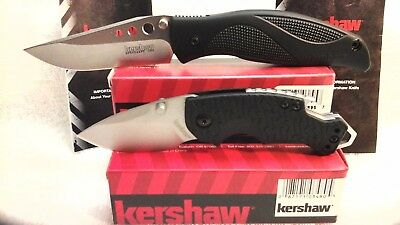 Lot of 2 New Kershaw Knives Whirlwind 1560 & Shuffle Assisted Opening Knife USA