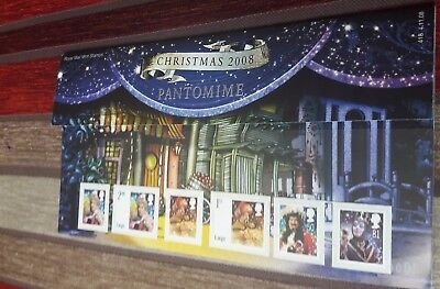Royal Mail Presentation Pack Christmas 2008 Pantomime - Mint Stamps
