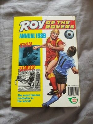 Pre-Owned Roy of the Rovers 1989 Annual