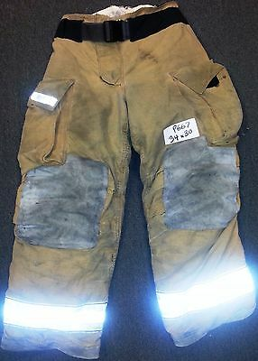 34x30 Pants  rousers Firefighter Turnout Bunker Fire Gear Globe Gxtreme P667