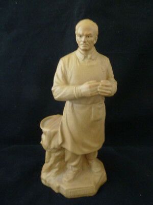 Rare Chinese Yixing Pottery Doctor Figure - Signed , Republic, PRC