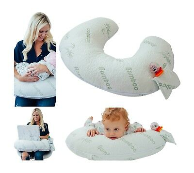 Waterproof Cover for Boppy Pillow-Hypoallergenic Bamboo Cover- Waterproof Lining