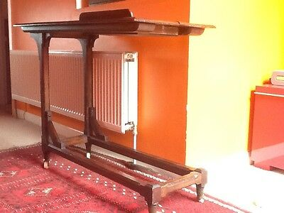 A Rare 19Th Century Gothic Style Reading Table