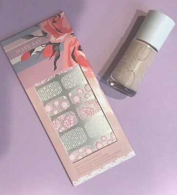 MARY KAY Into the Garden™ Nail Lacquer & Applique -2 PC Set GREAT GIFT!