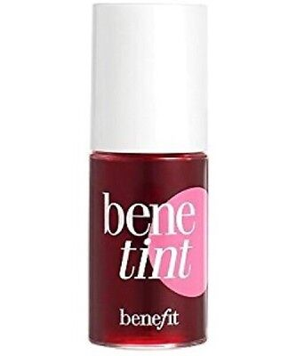 New Benefit Benetint Rose Tinted Lip And Cheek Stain 4ml