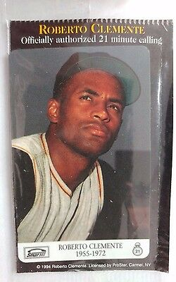 Roberto Clemente Phone Card, Vintage Collectible, 1994                       (B)