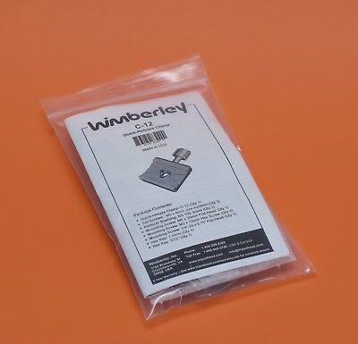 Wimberley C-12 Quick Release Clamp for Canon, Nikon, Sony, Fuji camera lens !