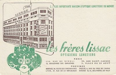 Buvard Freres Lissac Opticiens Lunetiers