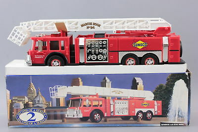 Sunoco Aerial Tower Fire Truck 1995 Collectors Edition #2 In Series 1/32 New