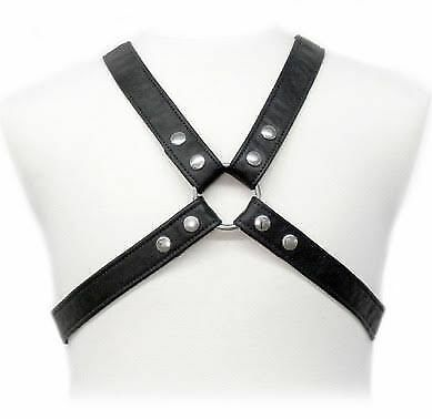 Body Leather Lasic Harness In Garment | Leather Body