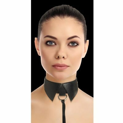 Ouch Collar Clasico Sumision Esclavo Negro | Ouch