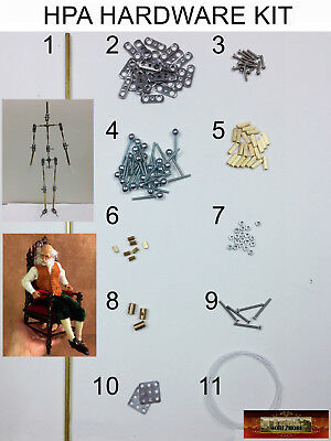 M00083 MOREZMORE Humanly Posable Armature HPA HARDWARE KIT Stop Motion Puppet