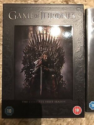 Game Of Thrones - Series 1 - Complete (DVD, 2012, 5-Disc Set, Box Set)