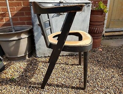 Nice retro mid century captains chair for restoration