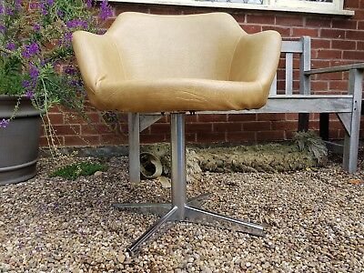 Stylish mid century swedish design chair for restoration