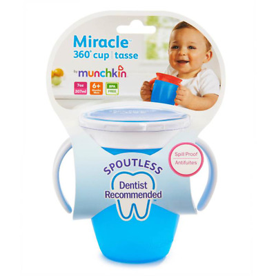 Munchkin Miracle 360 Trainer Cup Assorted 207Ml NEW Cincotta Chemist