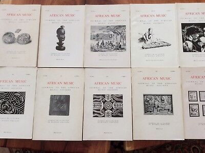 Collectible books - African Music by Journal of the African Music Society