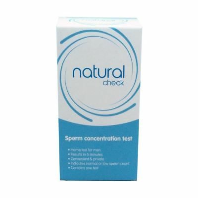 Natural Check Sperm Concentration Test - Male Fertility Test