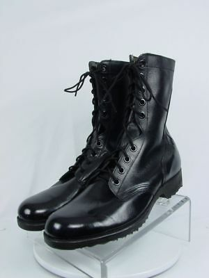 NEW WELLCO 1978 Men 11-R Black Leather Military Paratroop Combat Field Work Boot