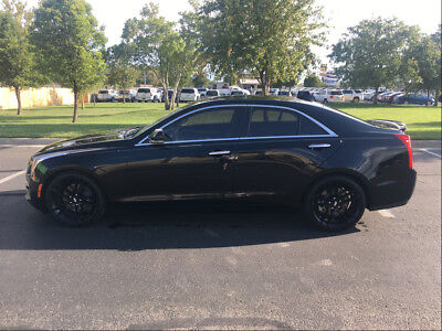 2015 Cadillac ATS Black RARE 2015 6 SPEED MANUAL Cadillac ATS Turbo Premium Sedan