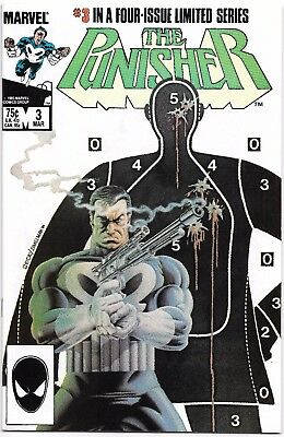 Punisher Mini Series #3 & #4 - 1986 Mike Zeck