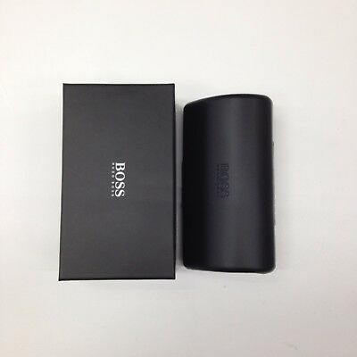 New HUGO BOSS Original Sunglasses Case with cleaning cloth and Outer Box