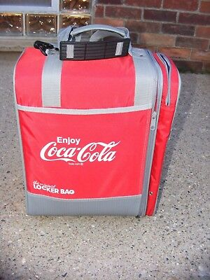 OGIO Coca-Cola Locker Bag Gym Coke Red White Gray Shoulder Strap Handle