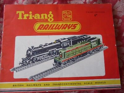 Triang Railways Catalogue 1957 3rd Edition