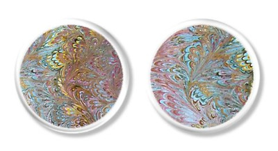 Colorful Art Oil Painting Inspired Cabinet Knobs - Unique Dresser Drawer Pull