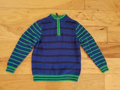 Boys Hanna Andersson Striped Sweater Size 120