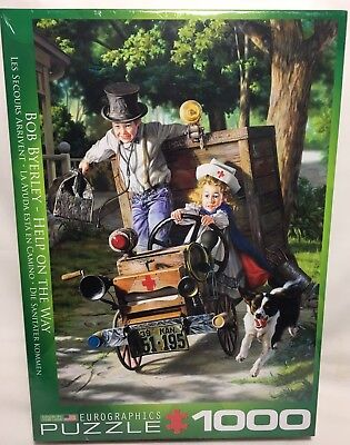 Bob Byerley Help on The Way Puzzle 1000 Piece Eurographics USA Made New Sealed
