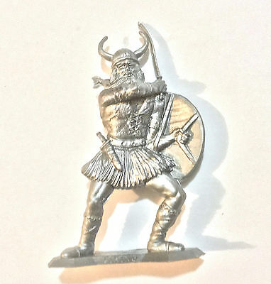 1973 Aussie Cereal Toy ~ Viking ~ Silver Warriors Of The World, Nabisco