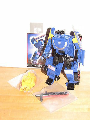 Transformers TFCC TFSS 5.0 Counterpunch Loose 100% Complete botcon combiner wars