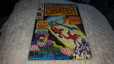 Marvel's Greatest Comics #23 1969 1ST.ISSUE!!!..BLACK WIDOW AND HAWKEYE PINUPS!!