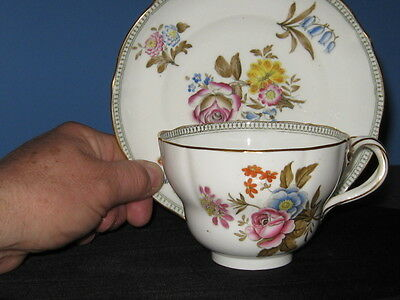 Antique Large Minton Cup And Saucer.circa 1836-1841